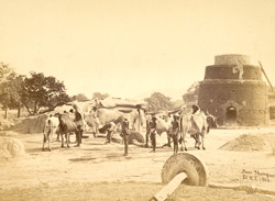 Mortar Mills, probably in the Krishna District